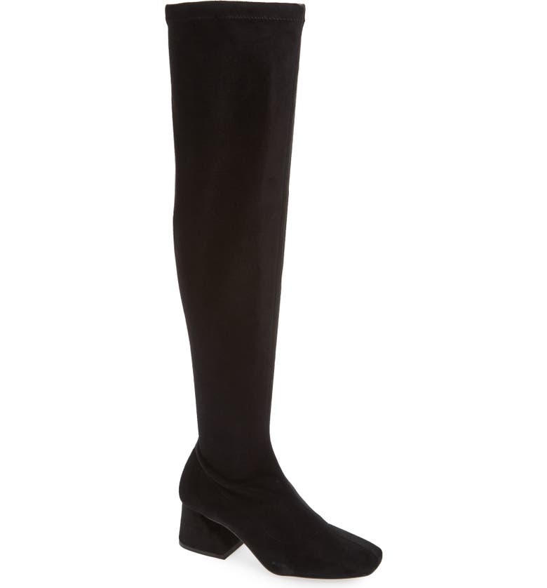 TOPSHOP Cappuccino Over the Knee Boot, Main, color, 001