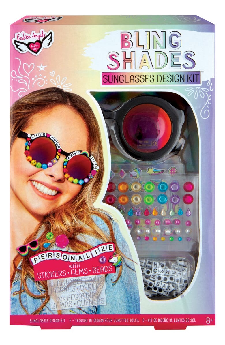 FASHION ANGELS Bling Shades Sunglasses Design Kit, Main, color, 000