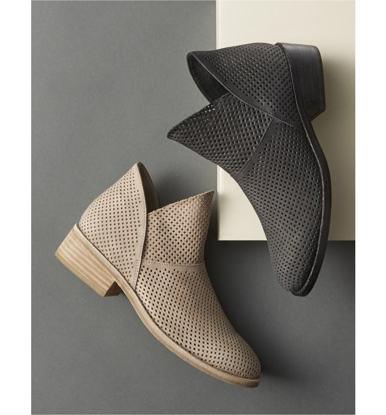 EILEEN FISHER 'Leaf' Bootie, Main, color, GRAPHITE SUEDE