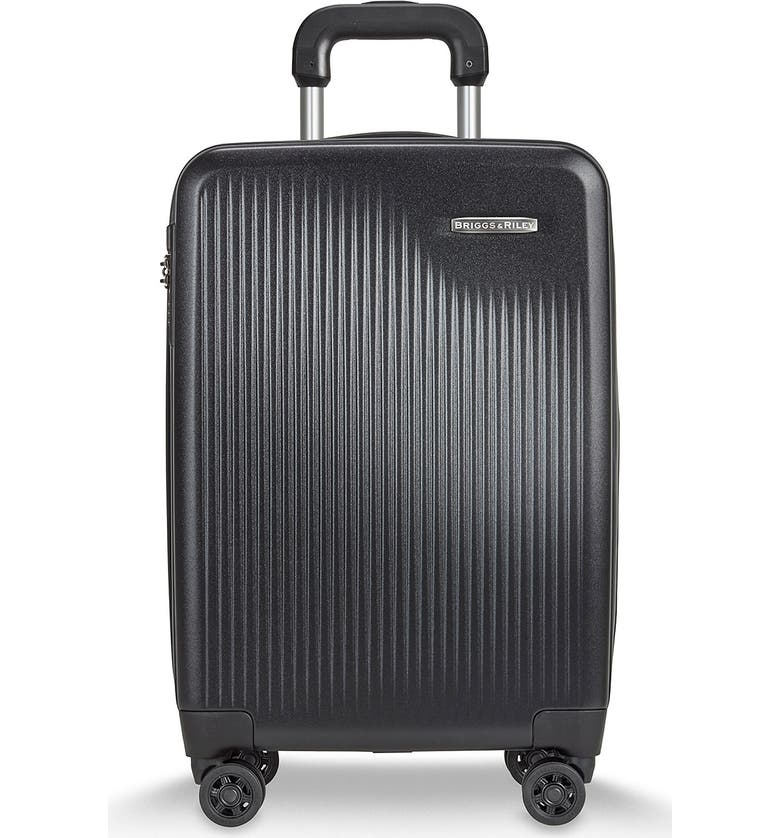 BRIGGS & RILEY 'Sympatico' Expandable Wheeled Carry-On, Main, color, BLACK