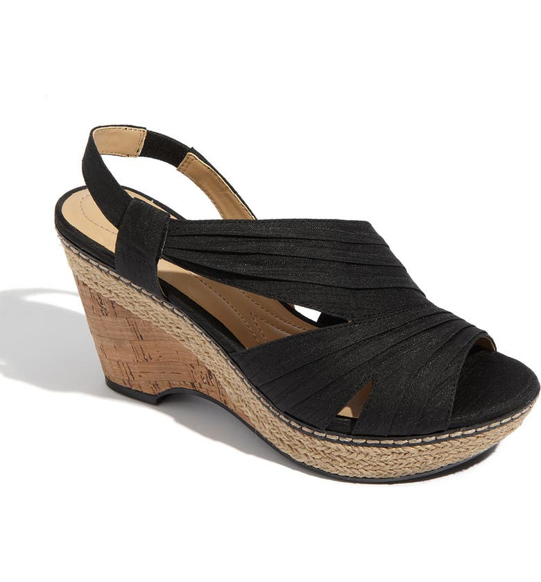 NATURALIZER LULIANNA WEDGE, Main, color, 001
