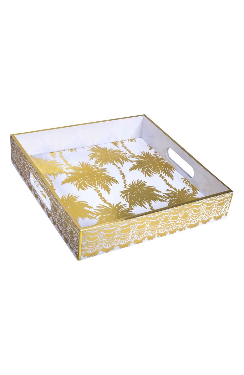 LILLY PULITZER<SUP>®</SUP> Lacquer Hostess Tray, Main, color, 710