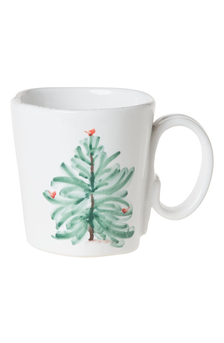 VIETRI Lastra Holiday Mug, Main, color, 360