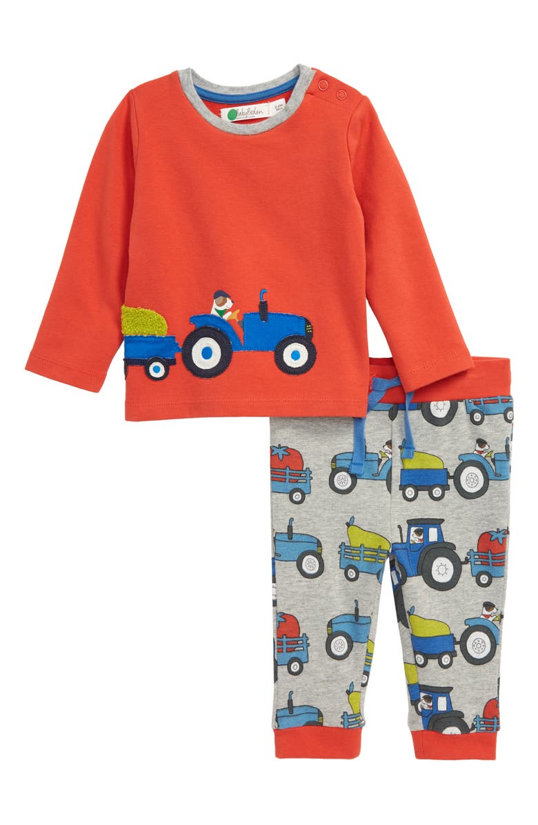 MINI BODEN Appliqué Pullover & Sweatpants Set, Main, color, 062