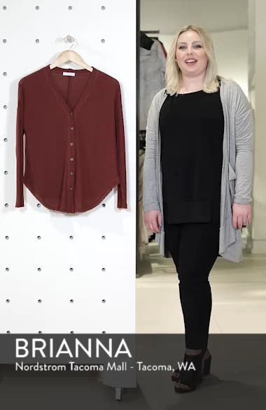 Thermal Button Front Shirt, sales video thumbnail