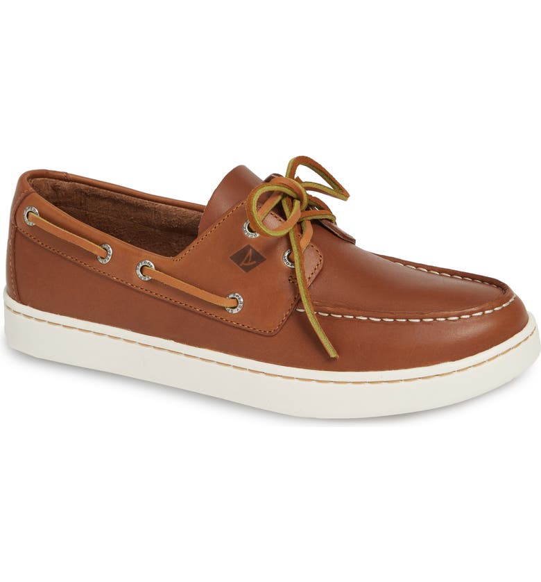 SPERRY Cup Boat Shoe, Main, color, 206