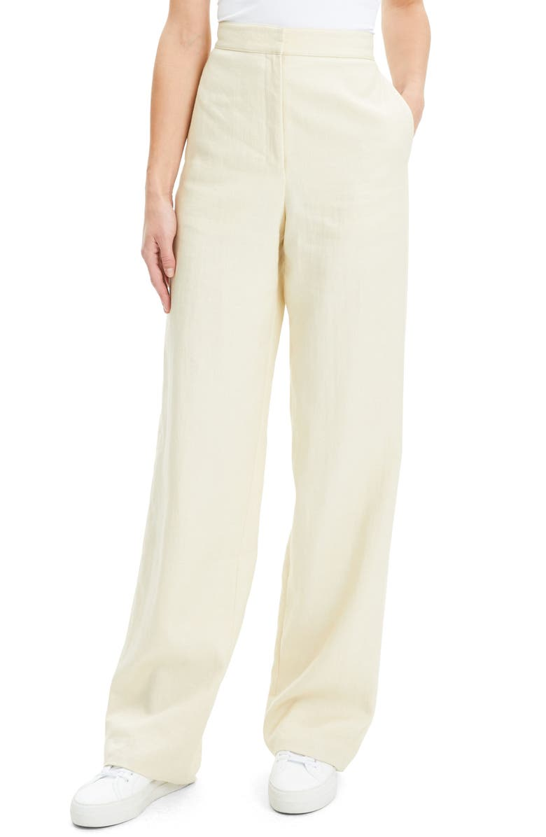 THEORY Clean Wide Leg Pants, Main, color, 250