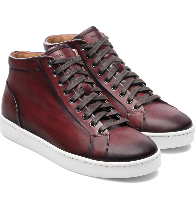 MAGNANNI Elonso Mid Top Sneaker, Main, color, TINTO