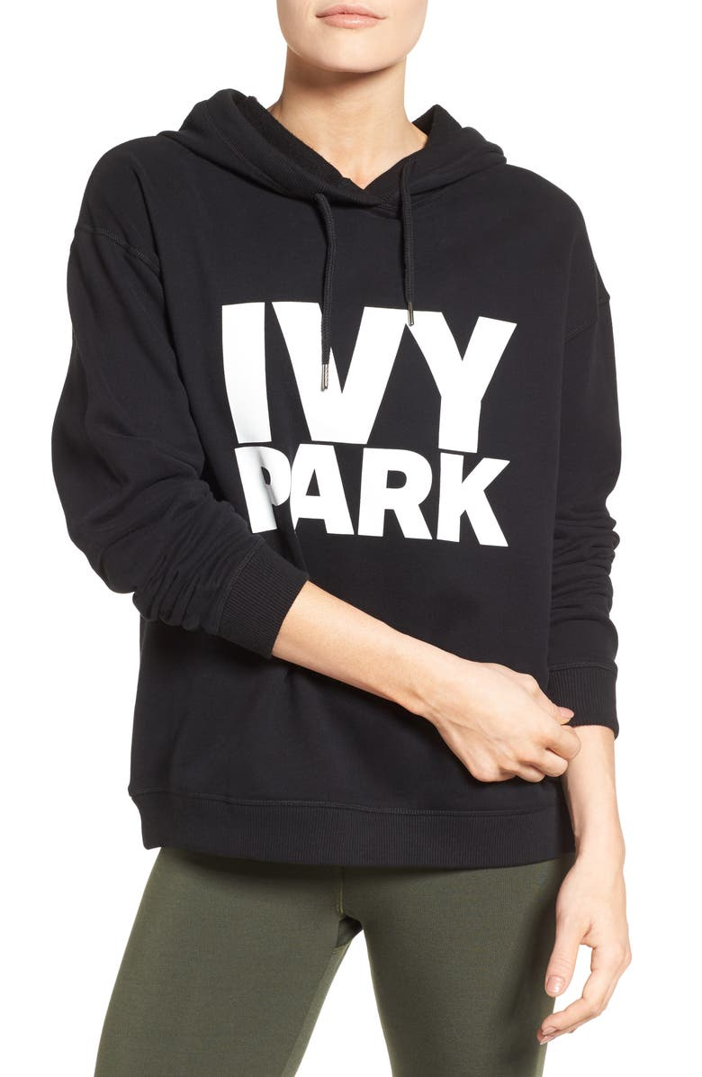 IVY PARK<SUP>®</SUP> Peached Logo Hoodie, Main, color, 001