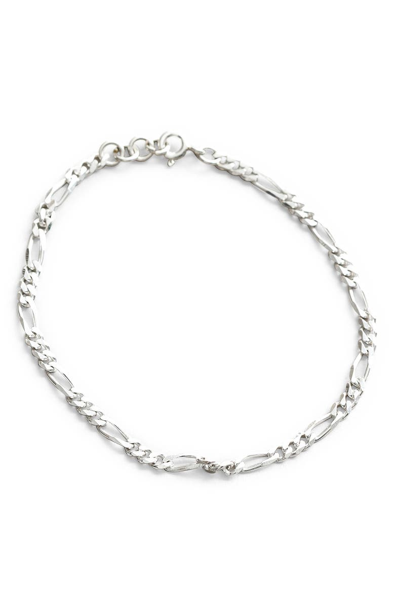 WOLF CIRCUS Mila Anklet, Main, color, Silver