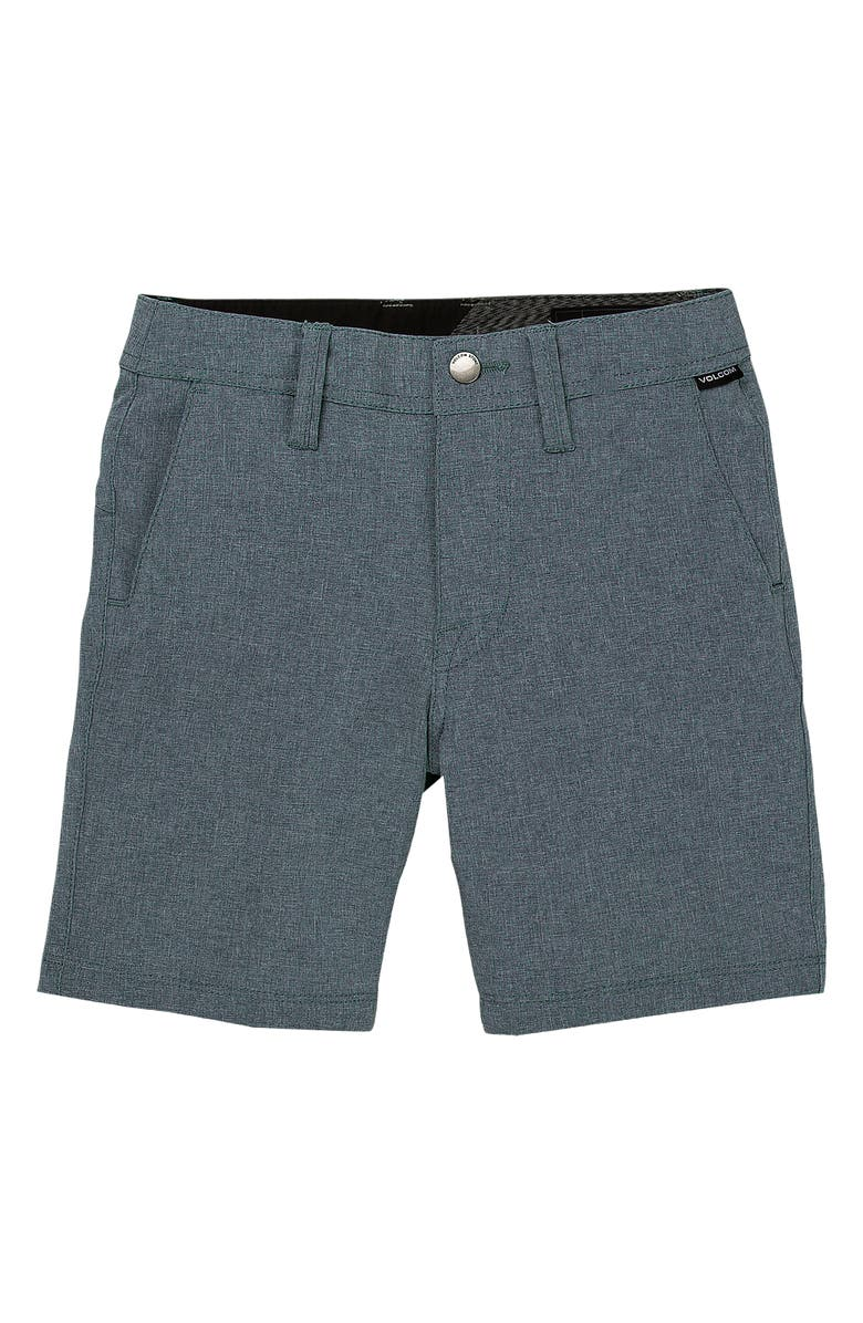 VOLCOM Static Shorts, Main, color, NAVY
