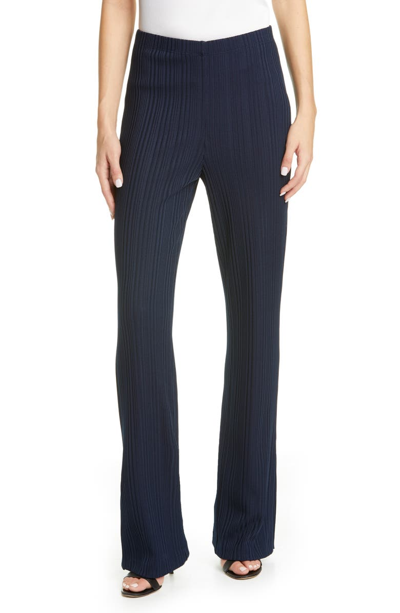 ST. JOHN COLLECTION Variegated Rib Pull-On Pants, Main, color, 410