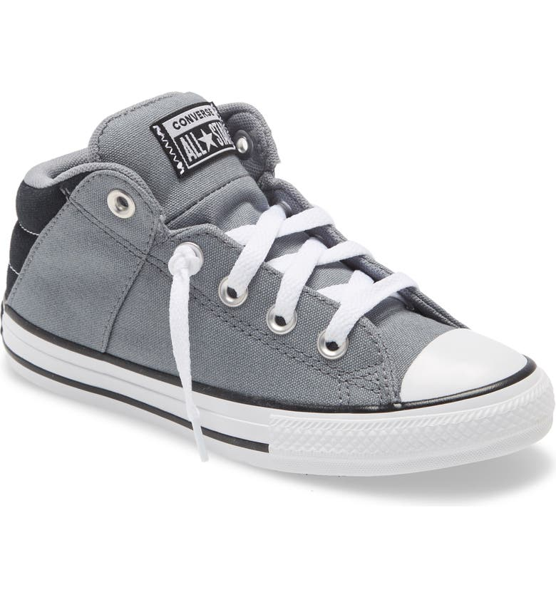 CONVERSE Chuck Taylor<sup>®</sup> All Star<sup>®</sup> Axel Mid Top Sneaker, Main, color, LIMESTONE GREY/ BLACK/ WHITE