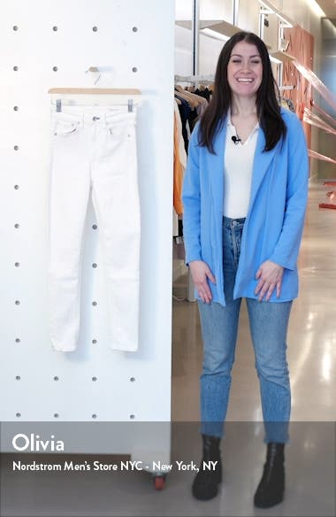 Nina High Waist Ankle Skinny Jeans, sales video thumbnail