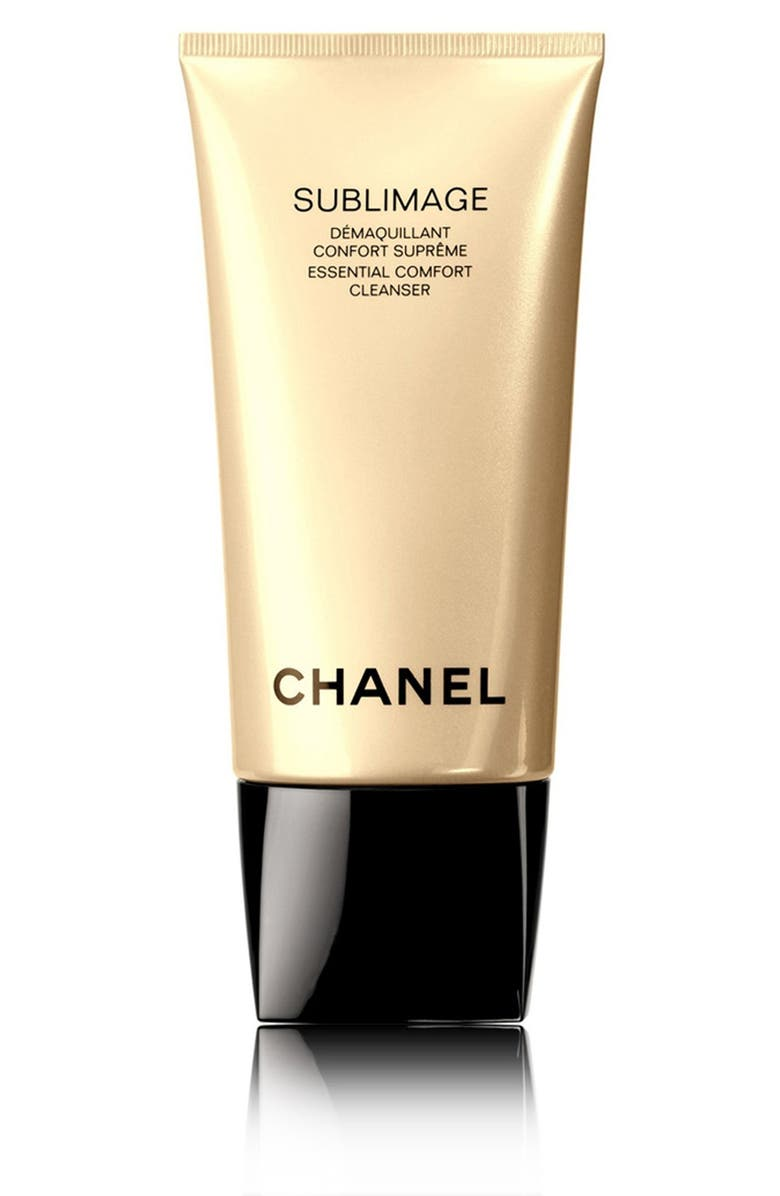 CHANEL SUBLIMAGE <br />Essential Comfort Cleanser, Main, color, 000
