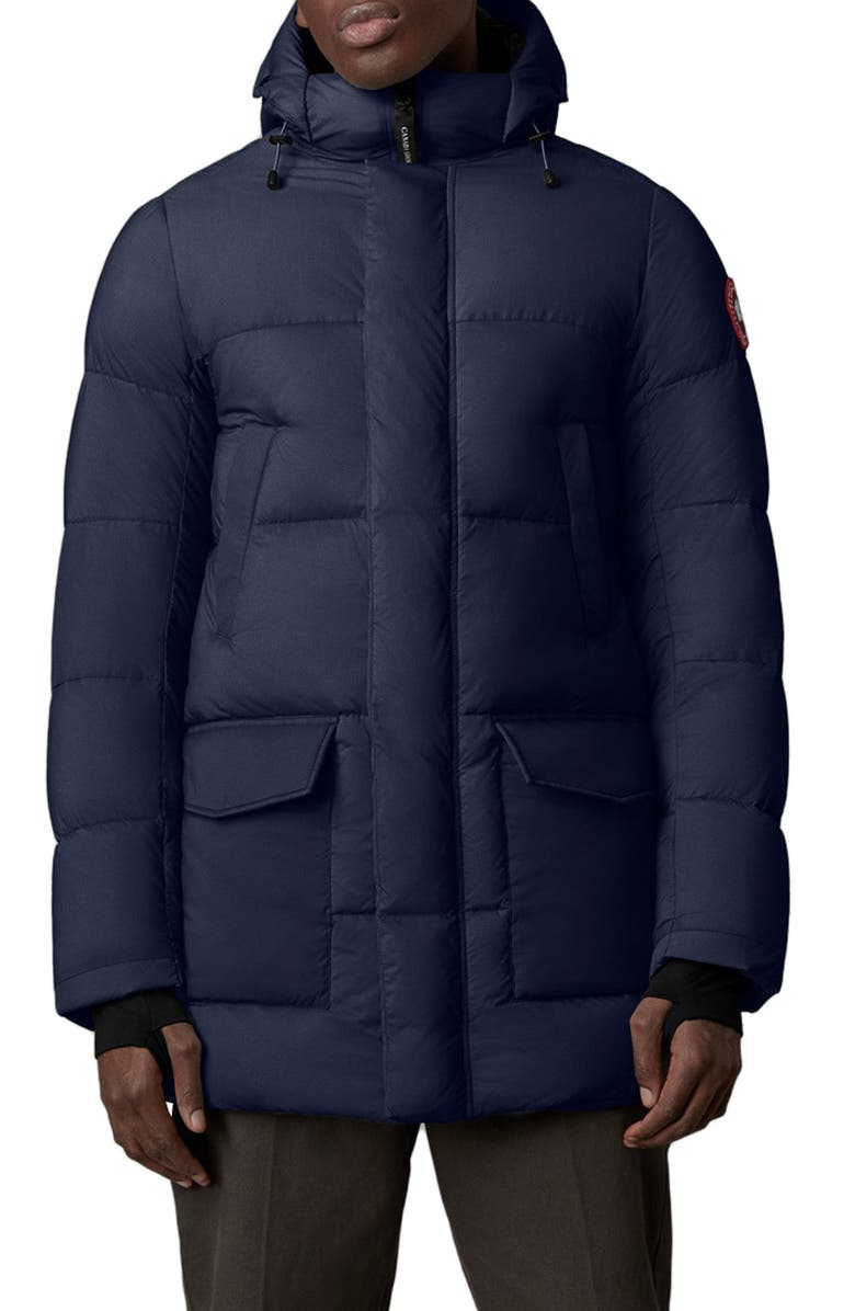 CANADA GOOSE Armstrong 750 Fill Power Down Jacket, Main, color, ATLANTIC NAVY
