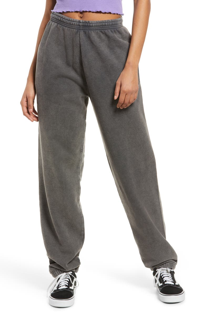 BDG URBAN OUTFITTERS Joggers, Main, color, DARK GREY