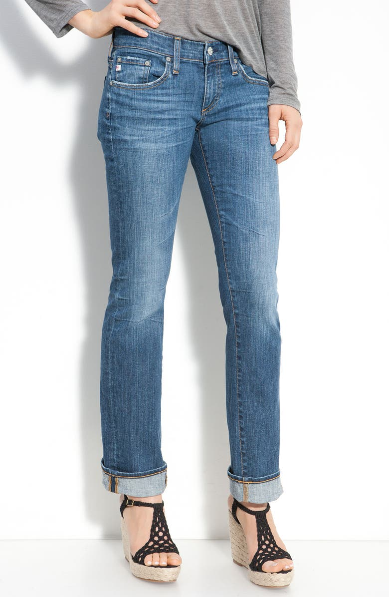AG 'The Tomboy' Relaxed Jeans, Main, color, 400
