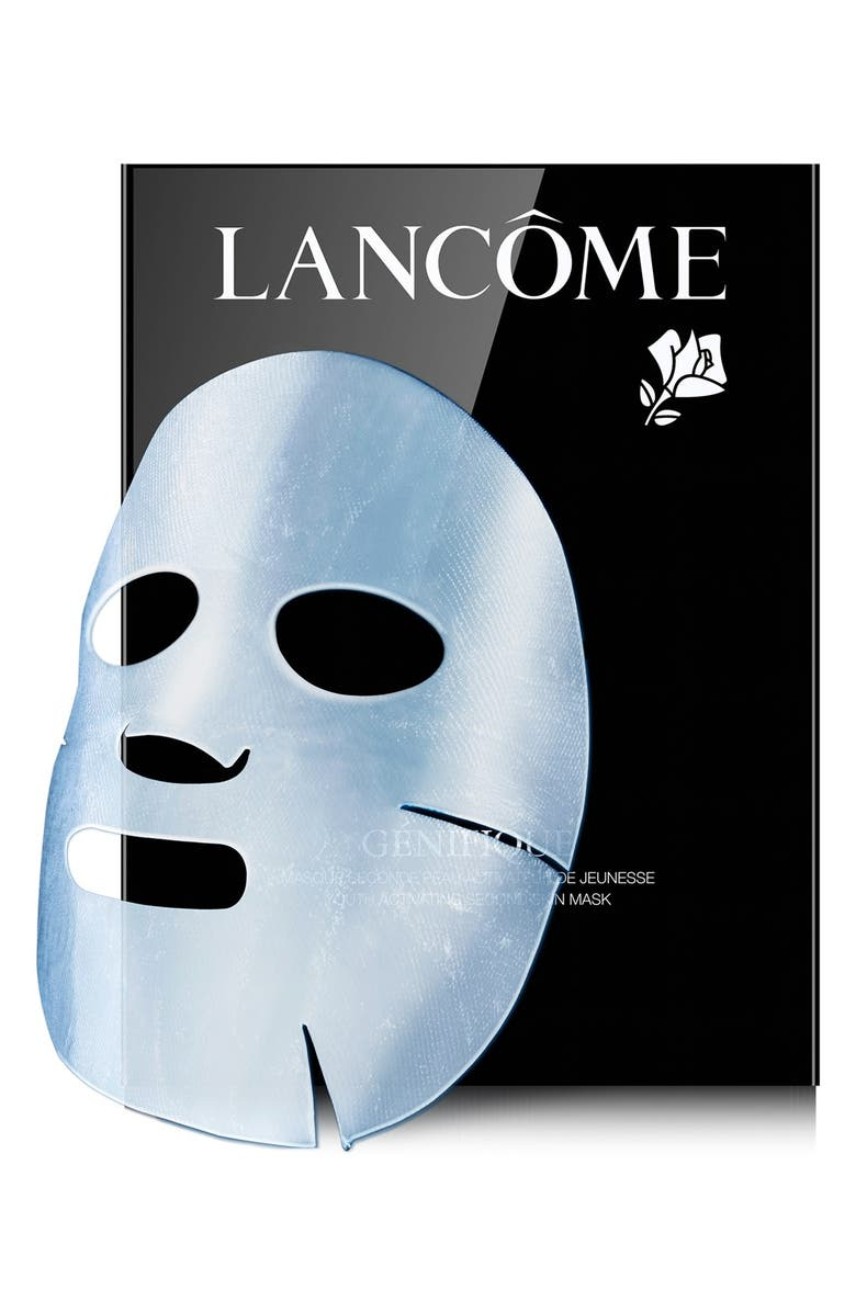 LANCÔME 'Génifique' Youth Activating Second Skin Mask, Main, color, 000