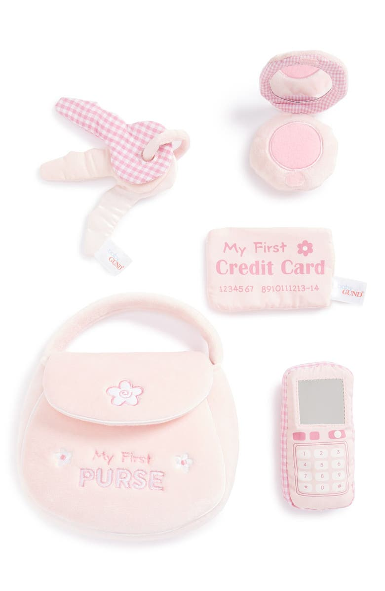 GUND Baby Gund 'My First Purse' Play Set, Main, color, 650