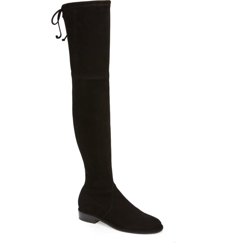 STUART WEITZMAN 'Lowland' Over the Knee Boot, Main, color, BLACK