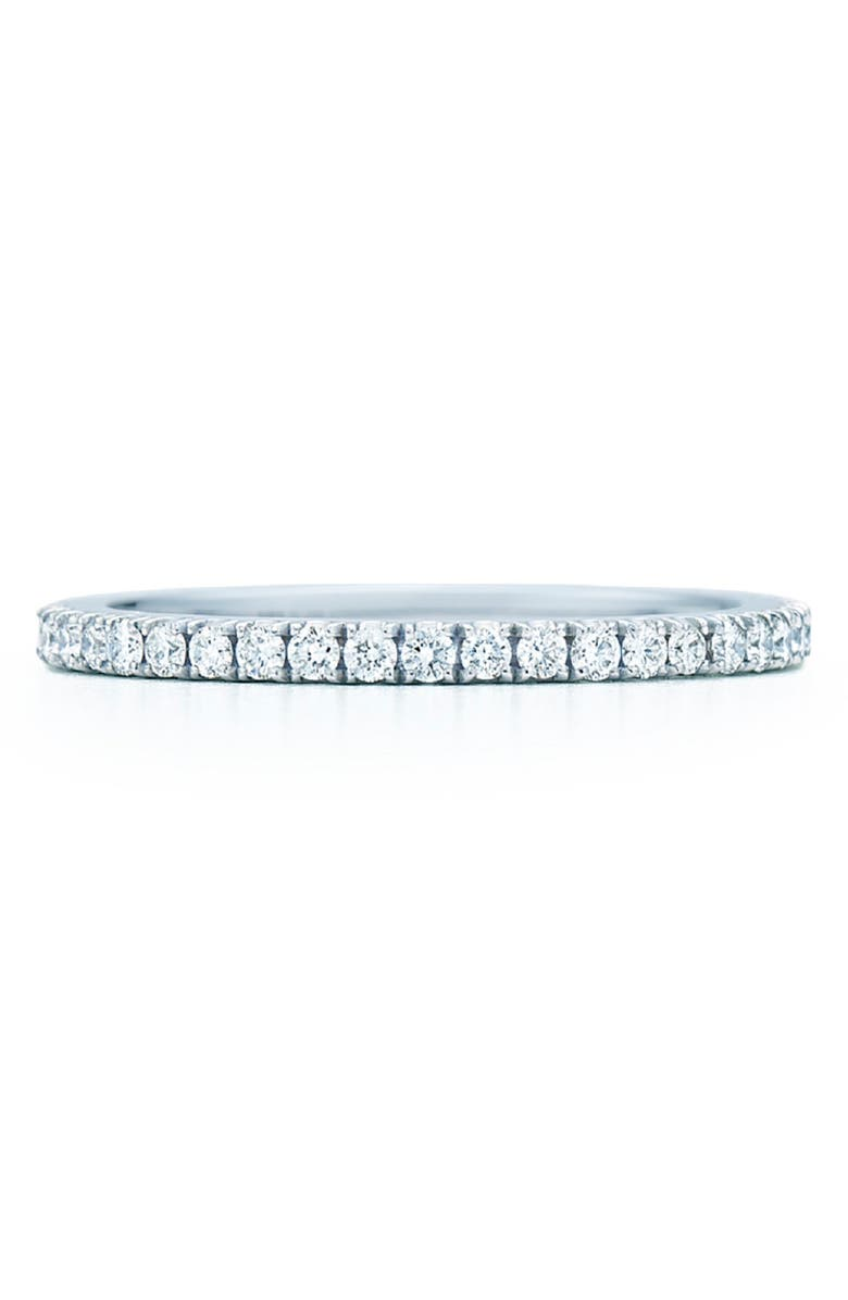 KWIAT Diamond Stackable Ring, Main, color, WHITE GOLD