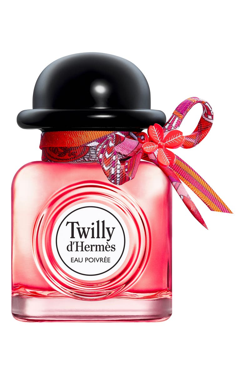 HERMÈS Charming Twilly - Limited edition eau poivrée, Main, color, NO COLOR