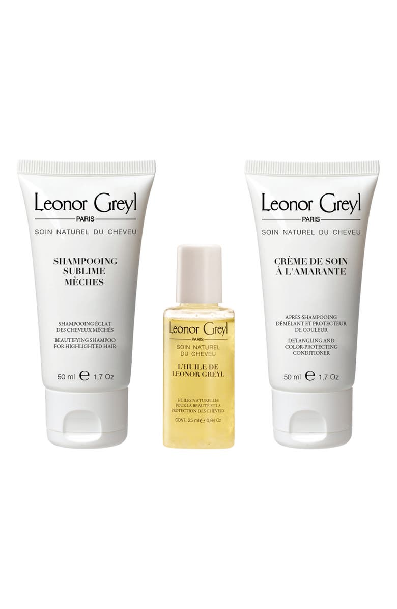 LEONOR GREYL PARIS Luxury Travel Kit for Color Treated Hair, Main, color, NO COLRO
