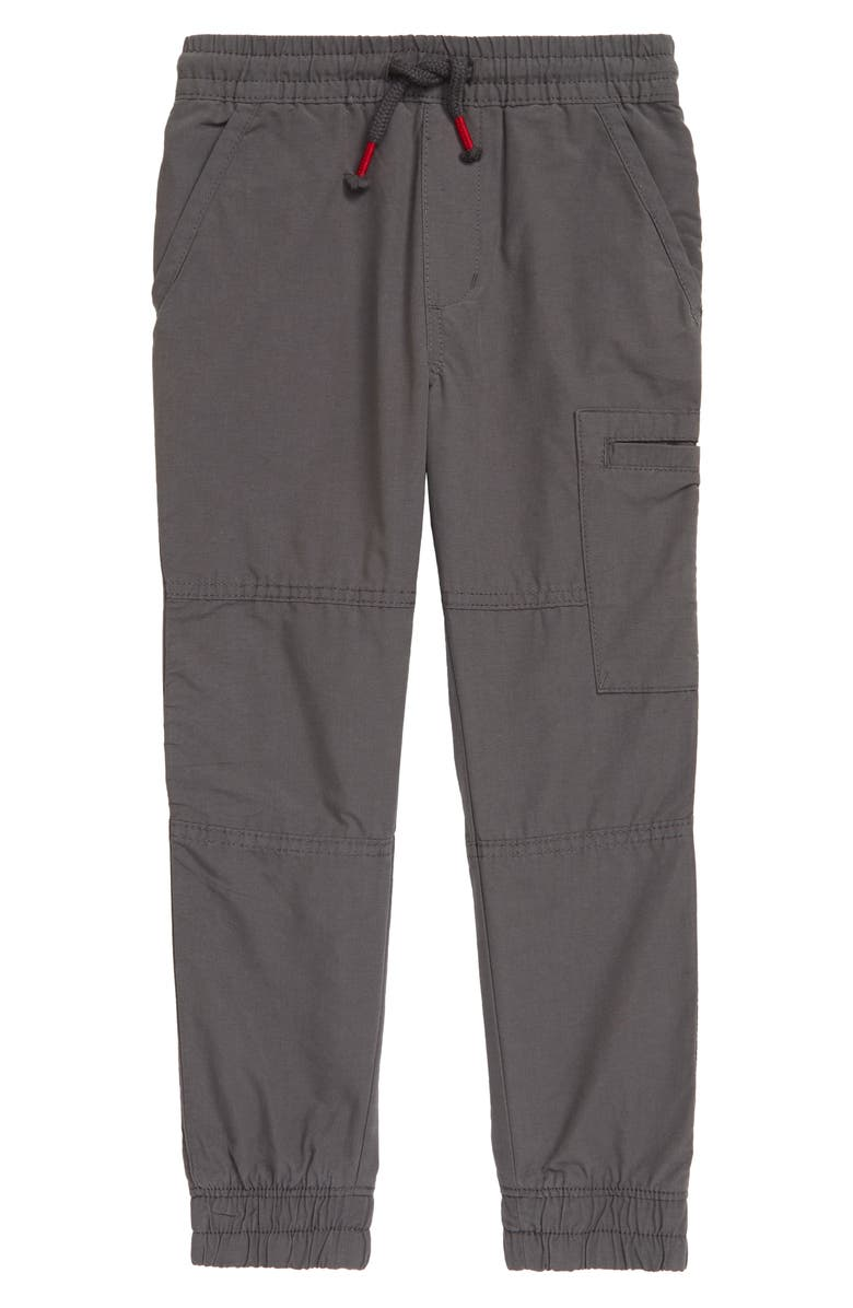 TUCKER + TATE Kids' Summit Lined Joggers, Main, color, GREY FLANNEL