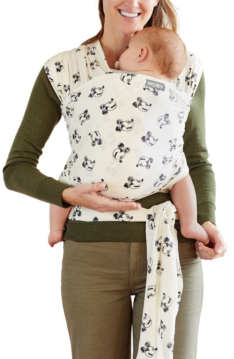 MOBY x Disney Special Edition Wrap Baby Carrier, Main, color, MICKEY MOUSE