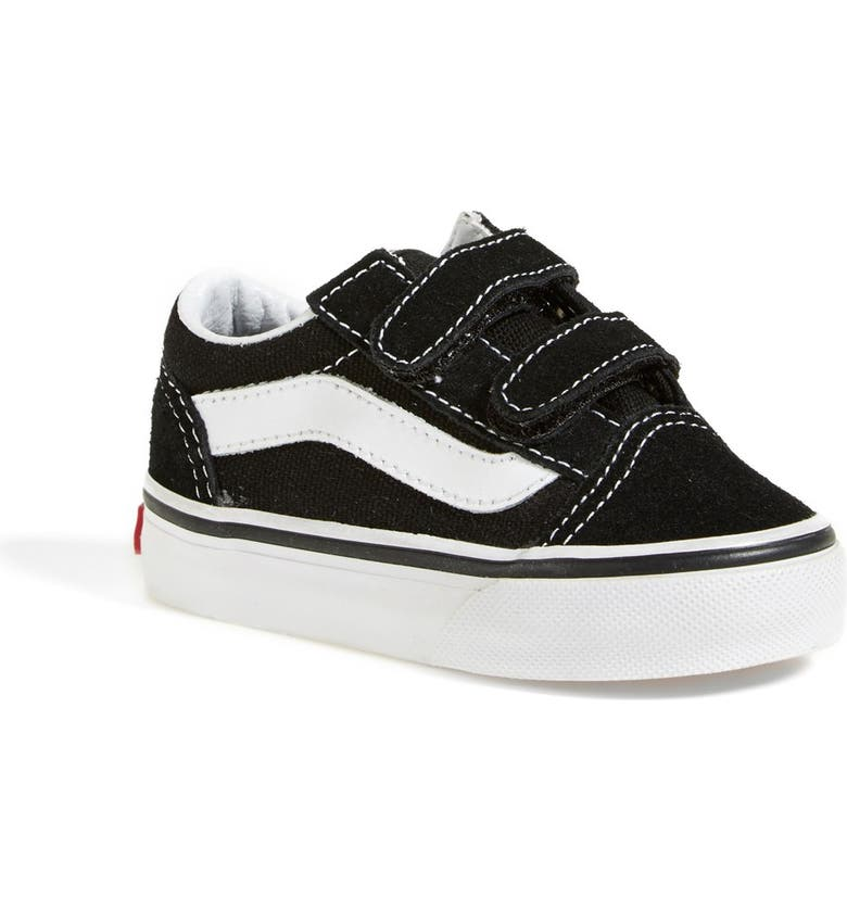 VANS Old Skool V Sneaker, Main, color, BLACK/ TRUE WHITE