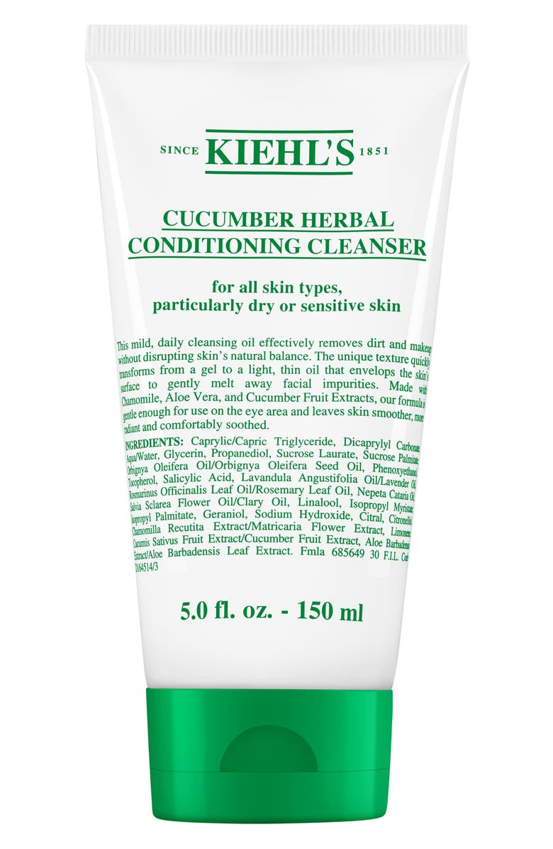 KIEHL'S SINCE 1851 Cucumber Herbal Cleanser, Main, color, NO COLOR
