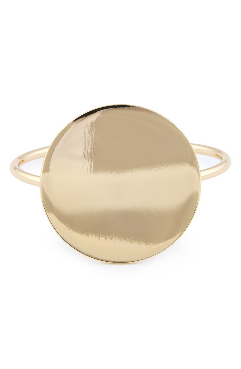 SOLE SOCIETY Mirrored Bangle, Main, color, 710