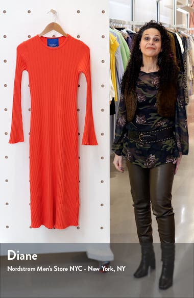 RIB by Simon Miller Wells Long Sleeve Midi Dress, sales video thumbnail