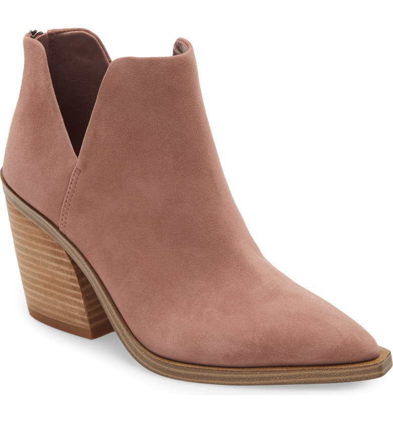 VINCE CAMUTO Gigietta Bootie, Main, color, DRY ROSE