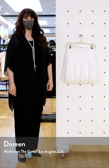 Lace Inset Skirt, sales video thumbnail