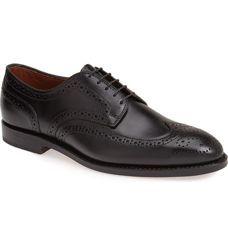 ALLEN EDMONDS 'Players' Wingtip, Main, color, 001