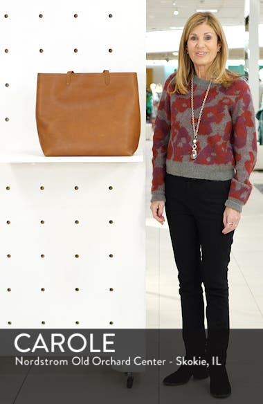 The Transport Leather Tote, sales video thumbnail