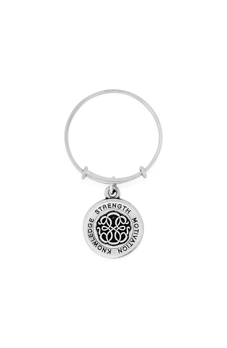 ALEX AND ANI 'Path of Life' Expandable Wire Ring, Main, color, Silver