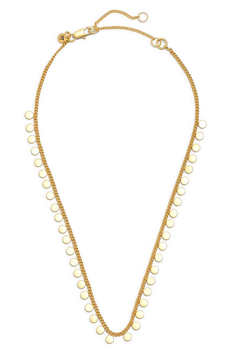 MADEWELL Connect-the-Dots Choker Necklace, Main, color, 710