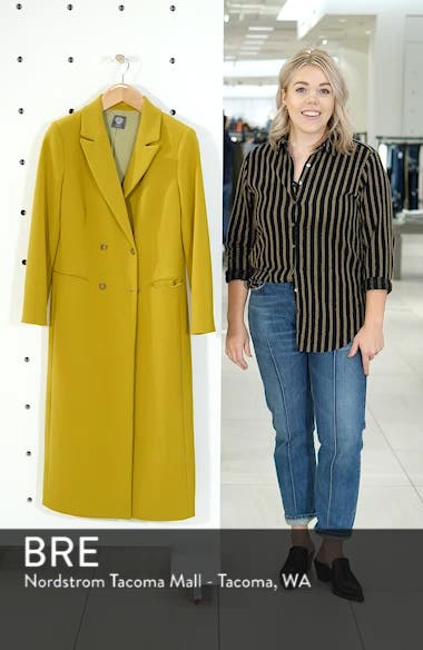 Double Breasted Long Jacket, sales video thumbnail