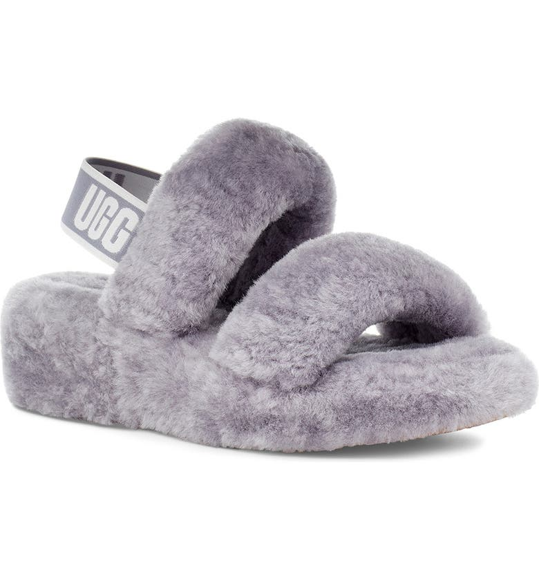 UGG<SUP>®</SUP> Oh Yeah Slingback Slipper, Main, color, SOFT AMETHYST