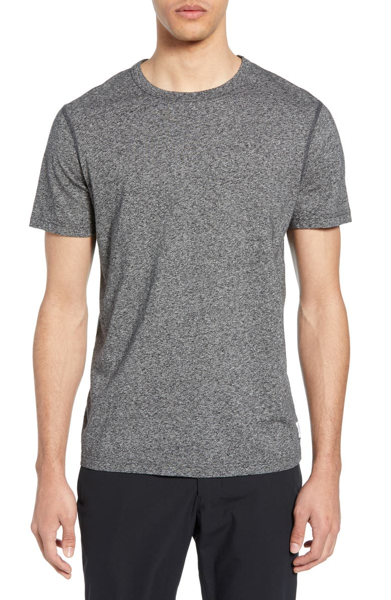 REIGNING CHAMP Short Sleeve Slim Fit Crewneck T-Shirt, Main, color, 020