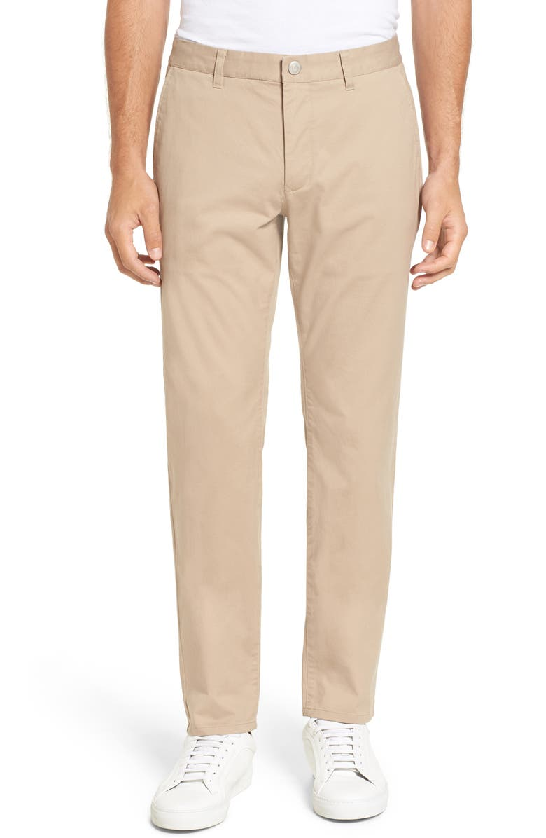 BONOBOS Slim Fit Stretch Washed Chinos, Main, color, BAJA DUNES