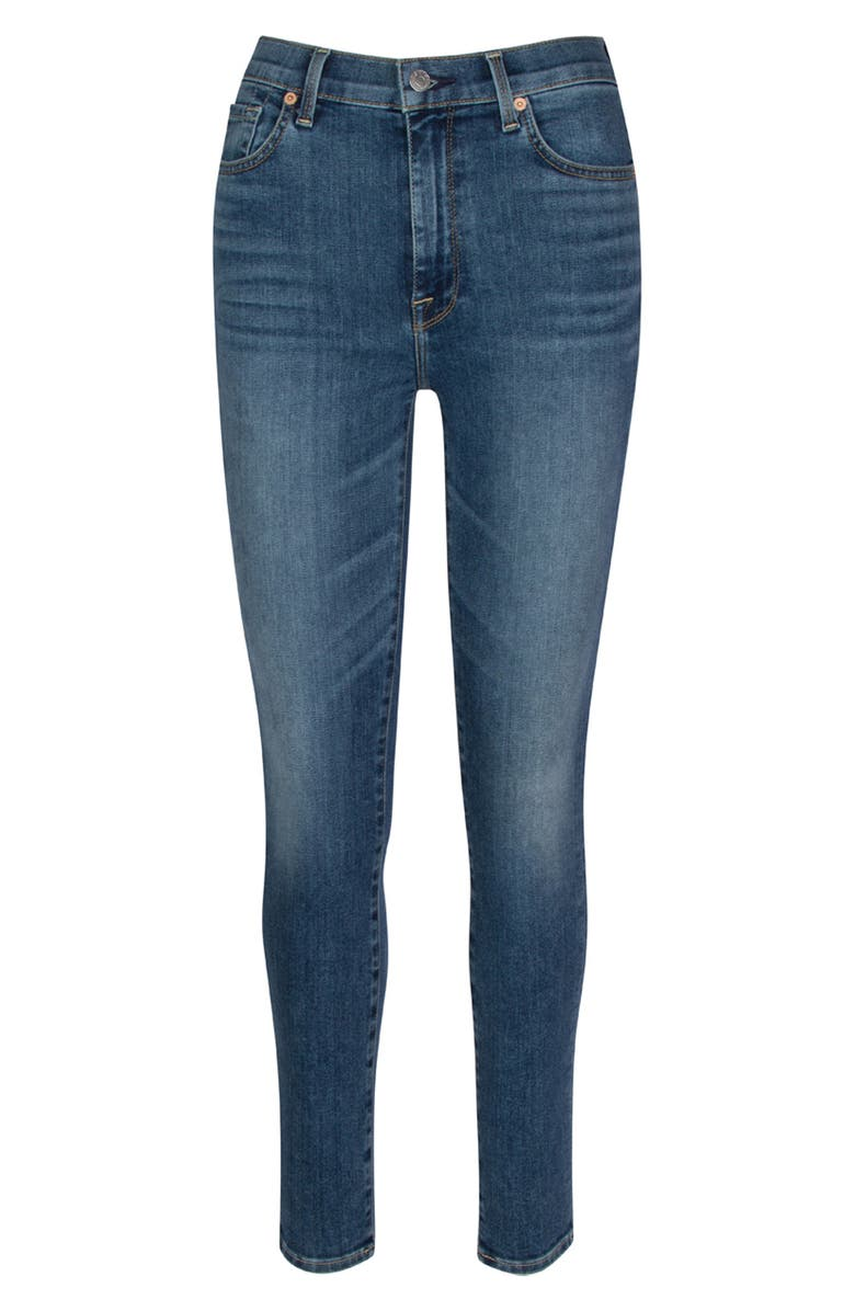 7 FOR ALL MANKIND<SUP>®</SUP> Seven The Aubrey Ultra High Waist Ankle Skinny Jeans, Main, color, CASSBLUE