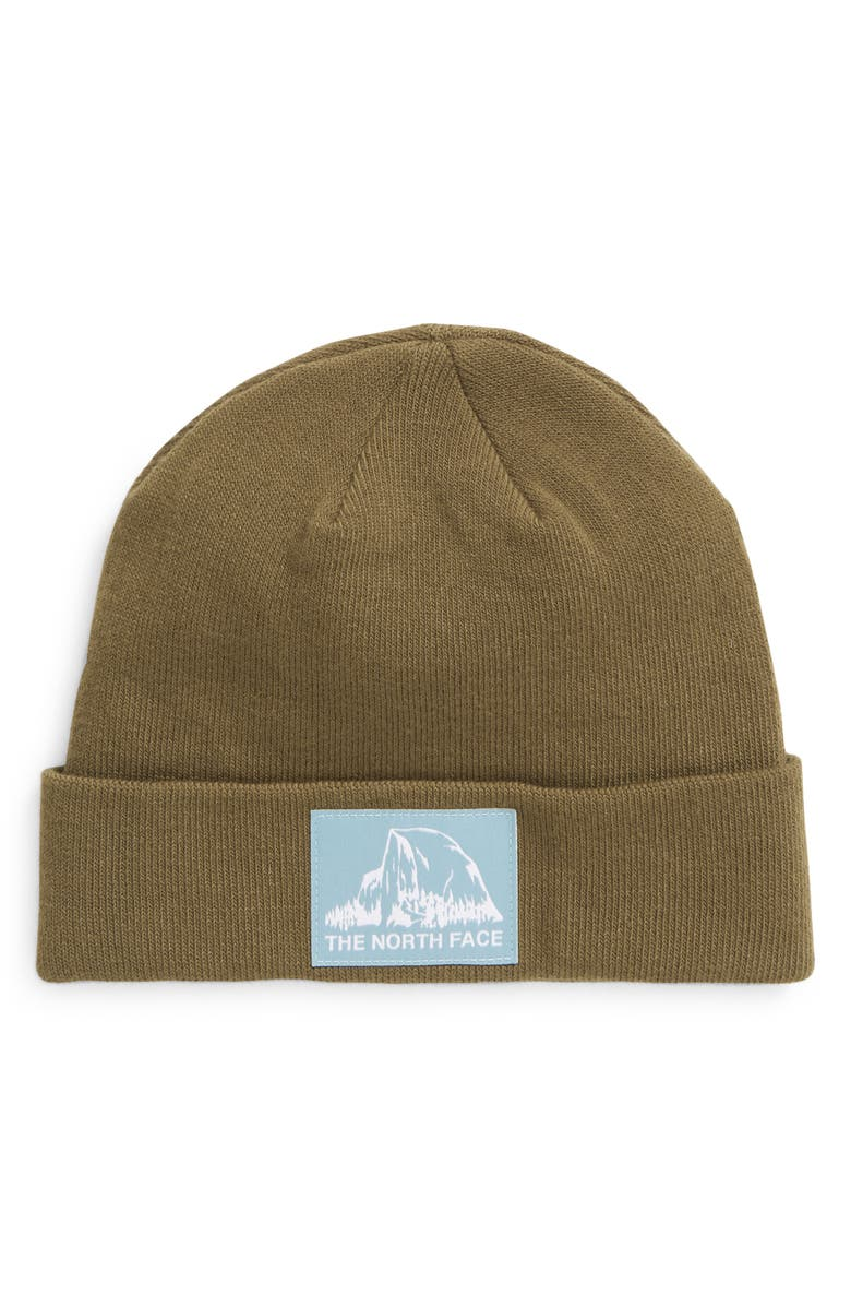 THE NORTH FACE Dock Worker Recycled Beanie, Main, color, MILITARY OLIVE