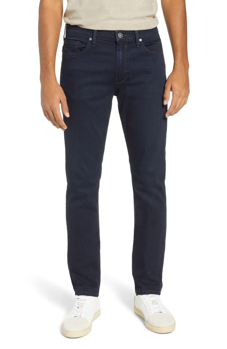 PAIGE Transcend – Lennox Slim Fit Jeans, Main, color, 400