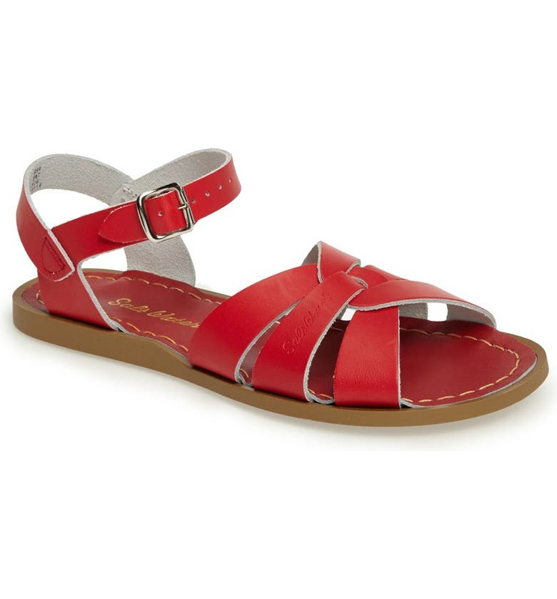 SALT WATER SANDALS BY HOY Original Sandal, Main, color, RED