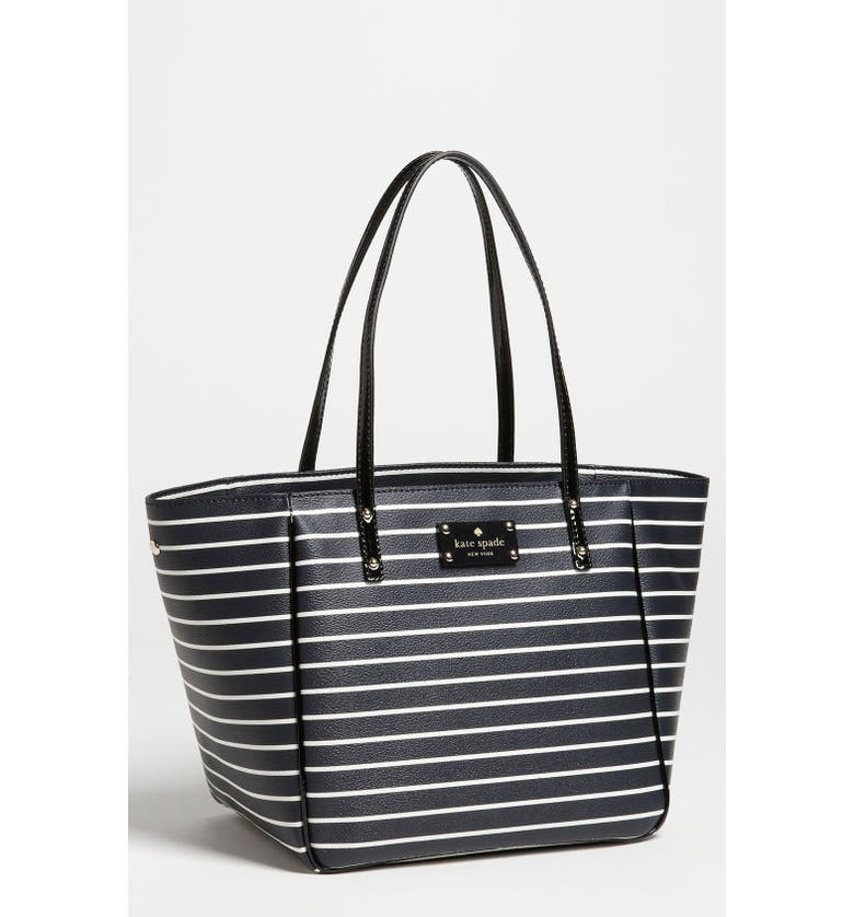 KATE SPADE NEW YORK 'city stripe - sidney small' tote, Main, color, 437