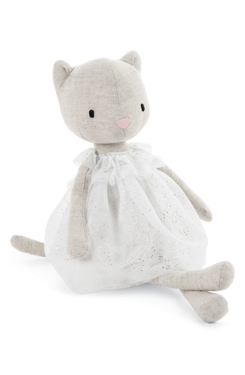 JELLYCAT Jolie Kitten Stuffed Animal, Main, color, 100